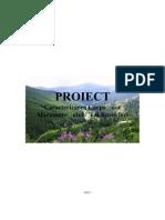 Proiect - Caracterizarea Carpatilor Maramuresului Si Ai Bucovinei