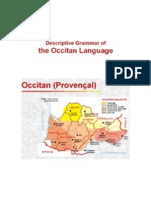 Descriptive Grammar of the Occitan Language | Grammatical