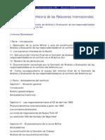 Informe Final de la Comisión de Análisis y Evaluación de las responsabilidades en el conflicto del Atlántico Sur (Informe Rattenbach)