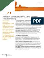 Workshop Plus - Windows Server 2003-2008 - Active Directory Troubleshooting (2)