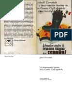 Cover Dale, John-La Intervencion Fascista en La Guerra Civil Espanola