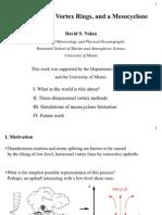David S. Nolan- Vortex Sheets, Vortex Rings, and a Mesocyclone