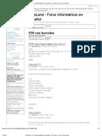 DinoLand - Foros informáticos en español • Ver Tema - FTP con hercules