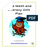 Sample From Owls Math and Literacy Resource Package