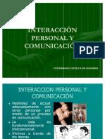 INTERACCION PERSONAL Y COMUNICACIÓN