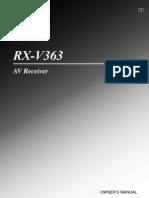 Yamaha Receiver - Owner's Manual | Loudspeaker | Ac Power Plugs And