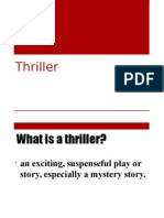 Thriller Presentation By Tiwani Adelekan