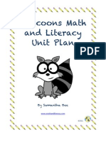 Sample From Raccoon Math and Literacy Resource Package