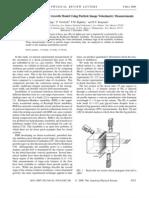 K. Prestridge et al- Validation of an Instability Growth Model Using Particle Image Velocimetry Measurements