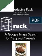 Chneukirchen Euruko2007 Introducing Rack