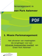Parkmanagement Greenpark Aalsmeer