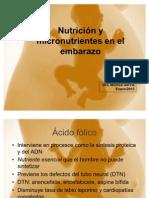 Micronutrientes embarazo