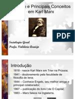 A Sociologia de Marx