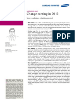 Derivatives Outlook_ Change Coming in 2012 - More Regulations, Volatility Expected
