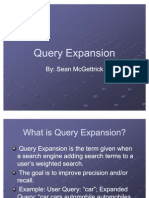 McGettrick Query Expansion
