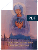 Mother of God of martirs of Solovki