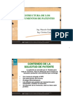 Estructura de Patentes