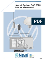 Community Aerial System CAS 3500 Installation and service manual
