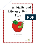 Sample From Apples Math and Literacy Unit Plan