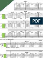 531 Spreadsheet