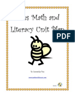Sample From Bees Math and Literacy Unit Plan