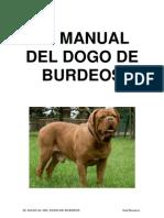 El Manual Del Dogo de Burdeos