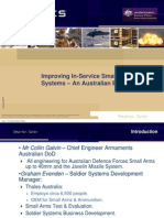 Improving in-Service Small Arms Systems - An Australian Experience