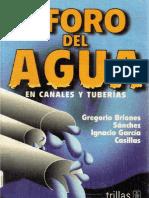 Aforo del Agua en Canales y Tuberías - Gregorio Briones e Ignacio García