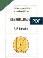 Lecciones Populares de Matematica  Desigualdades