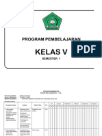Program Smester b.indo Dan Sbk 1