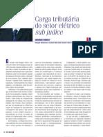 Artigo - Setor Eletrico - Carga Tri but Aria Sub Judice - Eduardo Borges