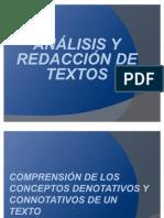 Textos Denotativos y Connotativos