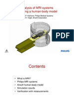 Analysis of MRI Systems Including a Human-body Model