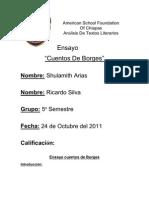 Analisis - Ensayo Cuentos de Borges