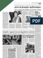 Il Cittadino-Nuovo lezionario ambrosiano