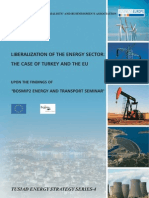Liberalization of the Energy Sector