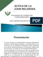 Presentacion_didactica de La Educacion Religiosa