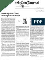 Arnold&PorterLLP Newyork Law Journal Scott 1.11.12