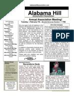 18 Jan 12 Newsletter