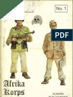 Almark Pub 1971 - Afrika Corps 1941-42 [Chamberlin & Ellis]
