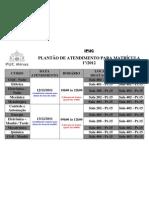 Escala Matrícula IPUC 12012