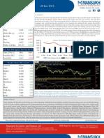 Weekly Market Outlook 28.01.12