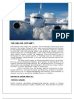 Project the Airline Industry