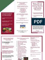 Hypertension Brochure Final 4-24-06