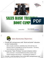 Kent Summers Sales Bootcamp -- for startup founders with an engineering background