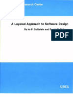 CSL-80-5 a Layered Approach to Software Design