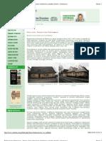 Budownictwo Drewniane - Drewno, Domy Drewniane Szkieletowe, Projekty Domów(1)