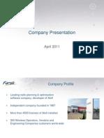 Forsk&ForskAsia Presentation 2011