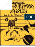 How to Be an Ass-Whipping Boxer