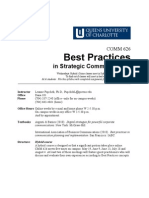 04 Best Practices Syllabus